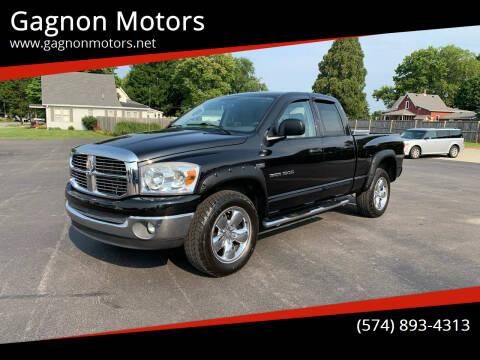 2007 Dodge Ram Pickup 1500 for sale at Gagnon  Motors - Gagnon Motors in Akron IN