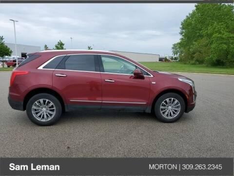 2017 Cadillac XT5 for sale at Sam Leman CDJRF Morton in Morton IL