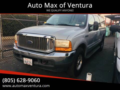 2000 Ford Excursion for sale at Auto Max of Ventura in Ventura CA