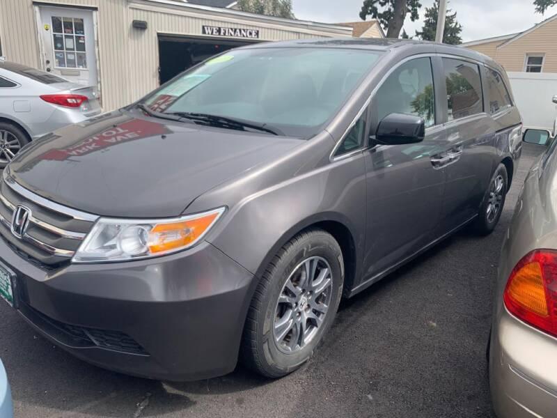2013 Honda Odyssey for sale at Park Avenue Auto Lot Inc in Linden NJ
