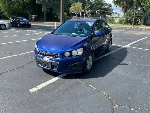 2014 Chevrolet Sonic for sale at Florida Prestige Collection in Saint Petersburg FL