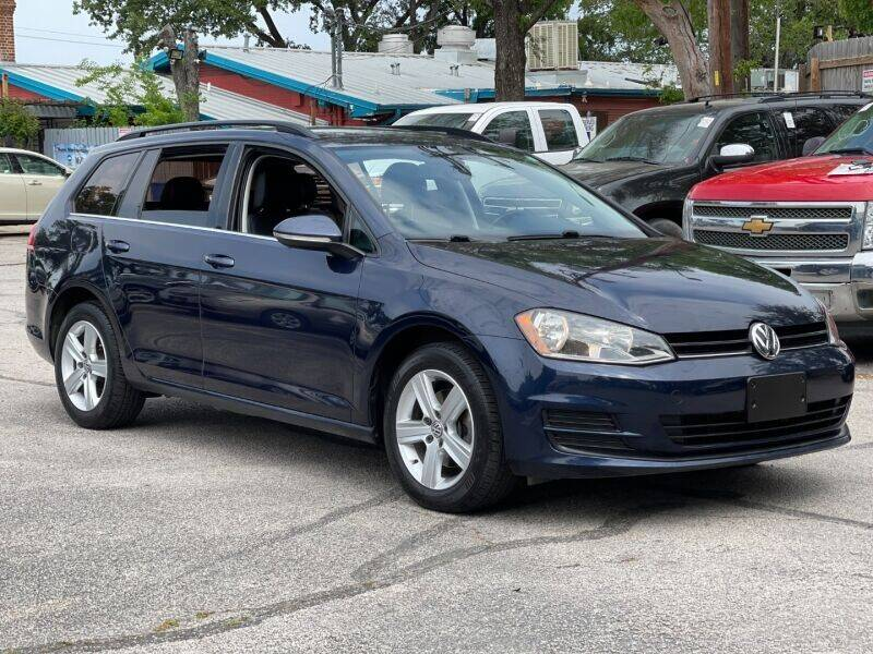 2015 Volkswagen Golf SportWagen for sale at AWESOME CARS LLC in Austin TX