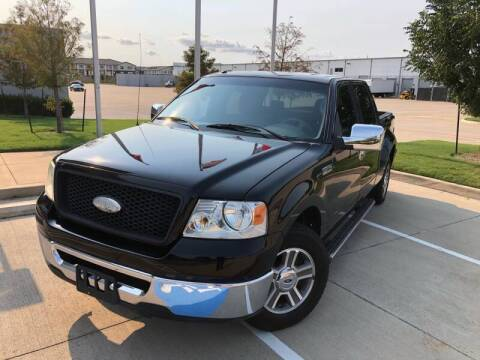 2006 Ford F-150 for sale at TWIN CITY MOTORS in Houston TX