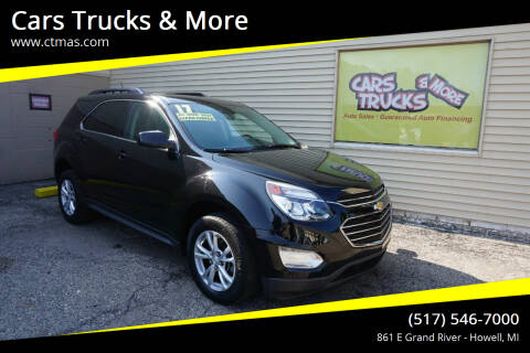 2017 Chevrolet Equinox for sale at Cars Trucks & More in Howell MI