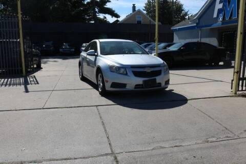 2014 Chevrolet Cruze for sale at F & M AUTO SALES in Detroit MI