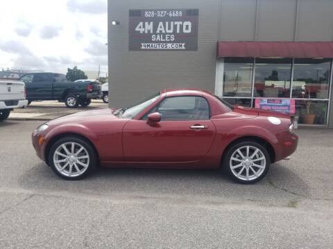 2008 Mazda MX-5 Miata for sale at 4M Auto Sales | 828-327-6688 | 4Mautos.com in Hickory NC
