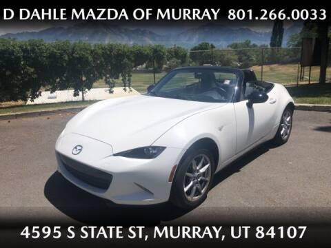 2017 Mazda MX-5 Miata for sale at D DAHLE MAZDA OF MURRAY in Salt Lake City UT