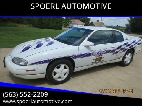 1995 Chevrolet Monte Carlo for sale at SPOERL AUTOMOTIVE in Sherrill IA