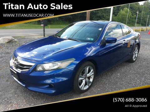 2011 Honda Accord for sale at Titan Auto Sales in Berwick PA