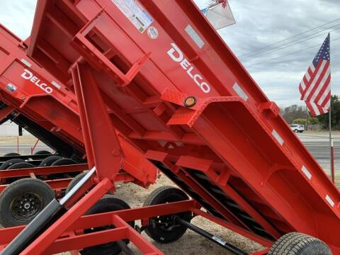 2021 DELCO  - DUMP 5 X 10 - Tarp - Ramps  for sale at LJD Sales in Lampasas TX