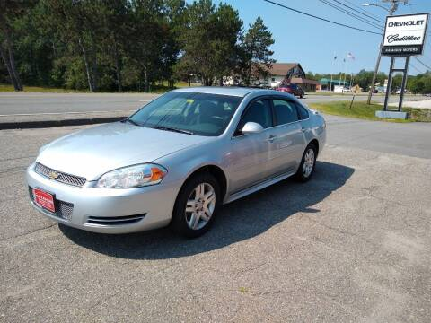 2012 Chevrolet Impala for sale at KATAHDIN MOTORS INC /  Chevrolet & Cadillac in Millinocket ME