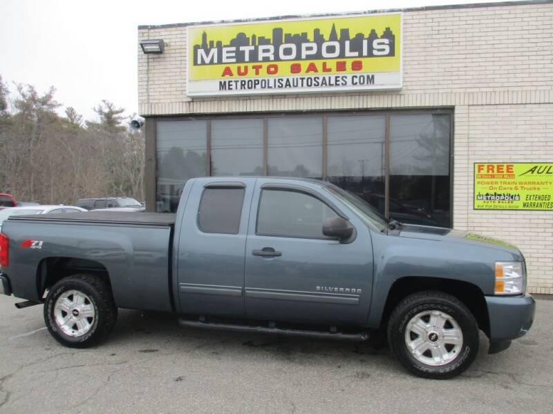 2011 Chevrolet Silverado 1500 for sale at Metropolis Auto Sales in Pelham NH