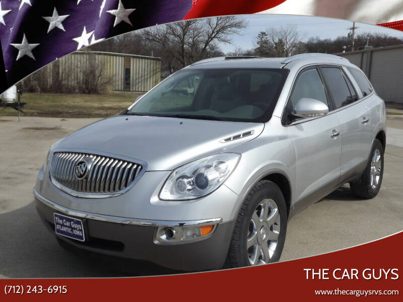 2010 Buick Enclave for sale at The Car Guys in Atlantic IA