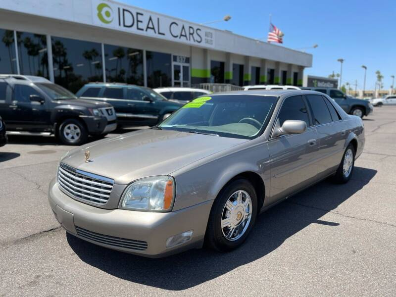 2003 Cadillac DeVille for sale at Ideal Cars Broadway in Mesa AZ