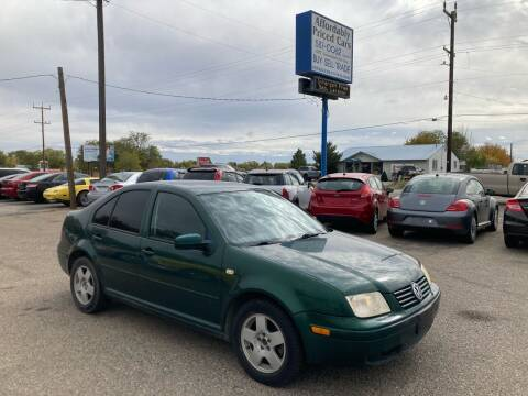 1999 Volkswagen Jetta for sale at AFFORDABLY PRICED CARS LLC in Mountain Home ID