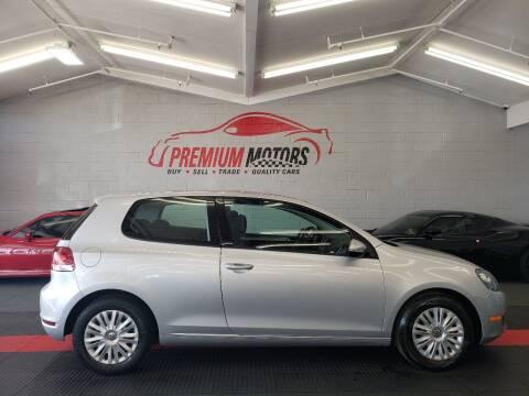 2010 Volkswagen Golf for sale at Premium Motors in Villa Park IL