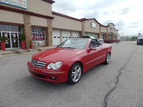 2006 Mercedes-Benz CLK for sale at Iconic Motors of Oklahoma City, LLC in Oklahoma City OK