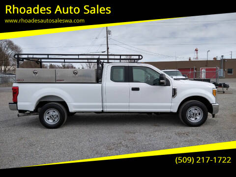 2017 Ford F-250 Super Duty for sale at Rhoades Auto Sales in Spokane Valley WA