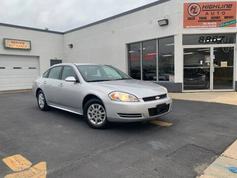 2011 Chevrolet Impala for sale at HIGHLINE AUTO LLC in Kenosha WI