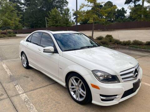 2012 Mercedes-Benz C-Class for sale at Two Brothers Auto Sales in Loganville GA