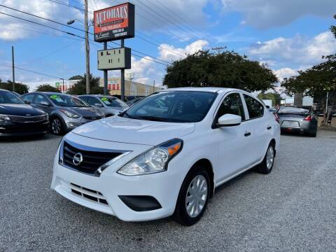 2017 Nissan Versa for sale at Autohaus of Greensboro in Greensboro NC