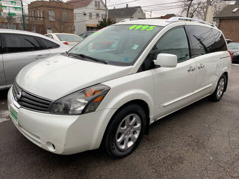 2008 Nissan Quest for sale at Barnes Auto Group in Chicago IL