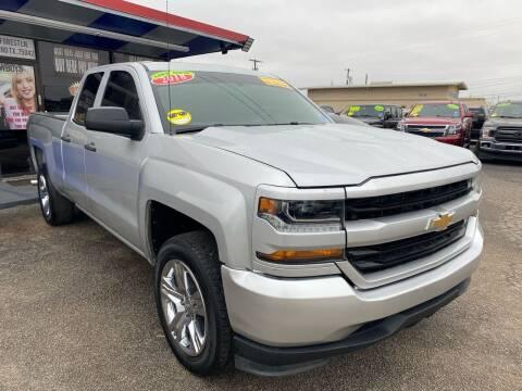 2018 Chevrolet Silverado 1500 for sale at Cow Boys Auto Sales LLC in Garland TX