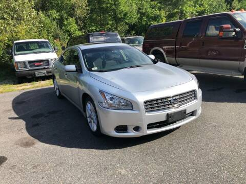2009 Nissan Maxima for sale at T&D Cars in Holbrook MA