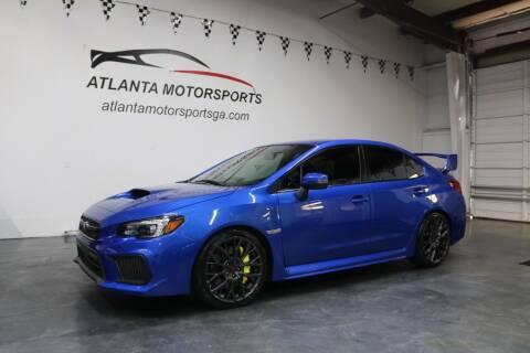 2018 Subaru WRX for sale at Atlanta Motorsports in Roswell GA
