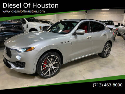 2017 Maserati Levante for sale at Diesel Of Houston in Houston TX
