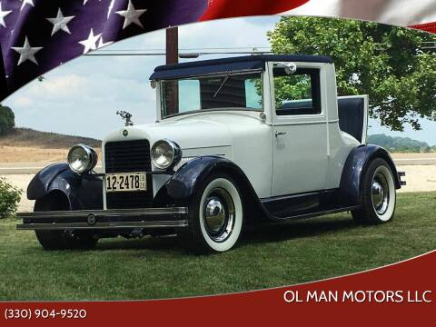 1928 Essex Super Six Coupe for sale at Ol Man Motors LLC in Louisville OH