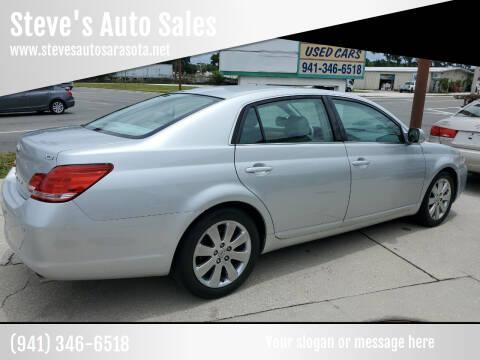 2007 Toyota Avalon for sale at Steve's Auto Sales in Sarasota FL