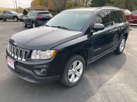 2011 Jeep Compass for sale at Louisburg Garage, Inc. in Cuba City WI