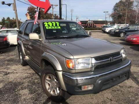 2002 Toyota 4Runner for sale at Klein on Vine in Cincinnati OH