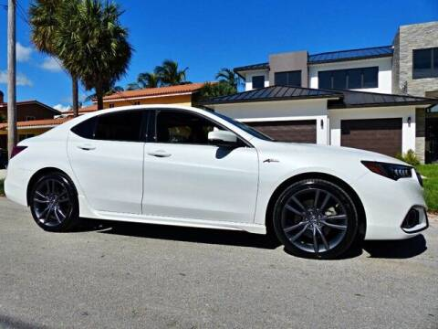 2018 Acura TLX for sale at Lifetime Automotive Group in Pompano Beach FL