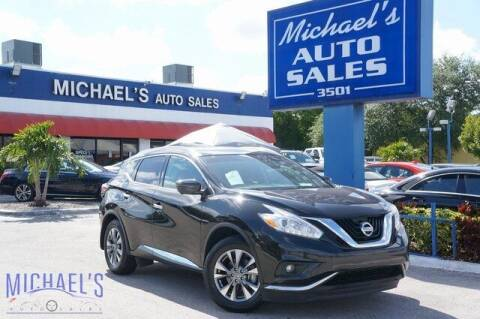 2016 Nissan Murano for sale at Michael's Auto Sales Corp in Hollywood FL
