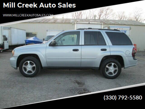 2007 Chevrolet TrailBlazer for sale at Mill Creek Auto Sales in Youngstown OH