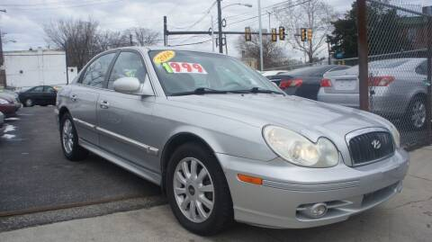 2004 Hyundai Sonata for sale at GM Automotive Group in Philadelphia PA