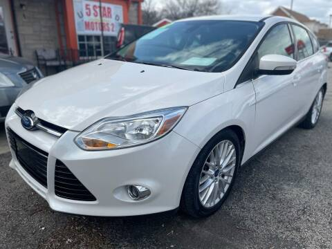 2012 Ford Focus for sale at 5 STAR MOTORS 1 & 2 - 5 STAR MOTORS in Louisville KY