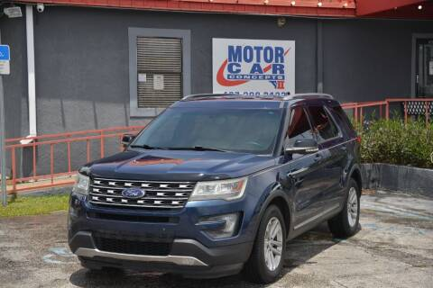 2016 Ford Explorer for sale at Motor Car Concepts II - Kirkman Location in Orlando FL