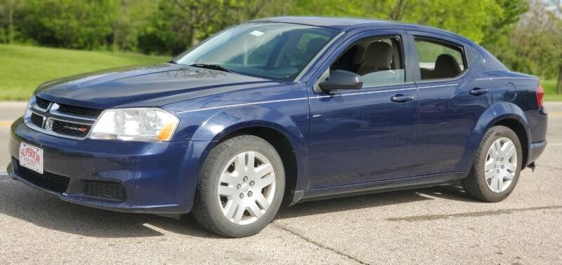 2014 Dodge Avenger for sale at Superior Auto Sales in Miamisburg OH
