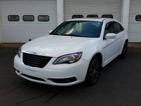 2012 Chrysler 200 for sale at Action Automotive Inc in Berlin CT
