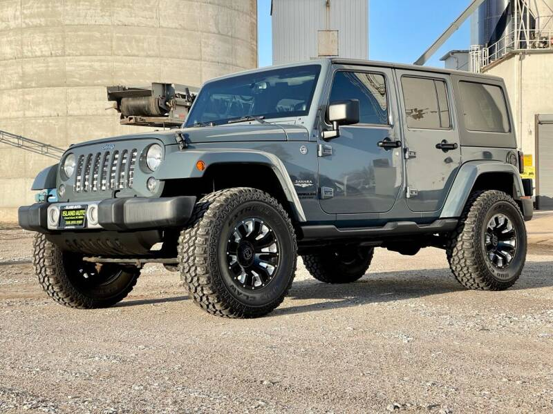 2014 Jeep Wrangler Unlimited for sale at Island Auto Off-Road & Sport in Grand Island NE