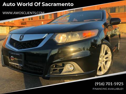 2009 Acura TSX for sale at Auto World of Sacramento Stockton Blvd in Sacramento CA