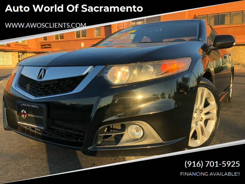 2009 Acura TSX for sale at Auto World of Sacramento Stockton Blvd in Sacramento CA