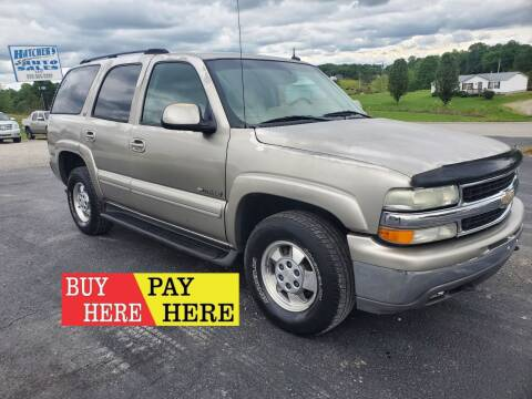 2003 Chevrolet Tahoe for sale at Hatcher's Auto Sales, LLC - Buy Here Pay Here in Campbellsville KY