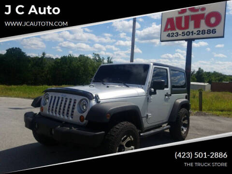2010 Jeep Wrangler for sale at J C Auto in Johnson City TN