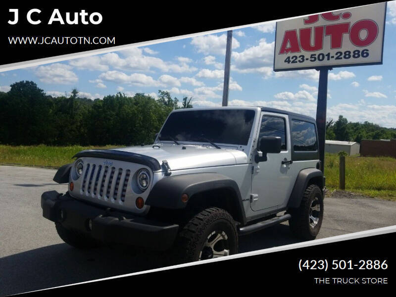 2010 Jeep Wrangler for sale at J C Auto in Johnson City TN