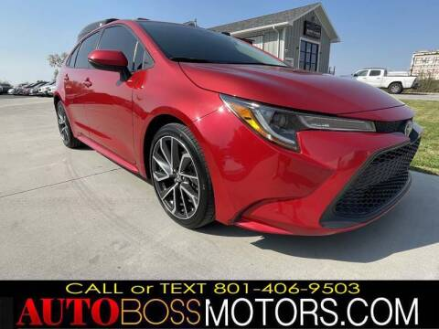 2020 Toyota Corolla for sale at Auto Boss in Woods Cross UT