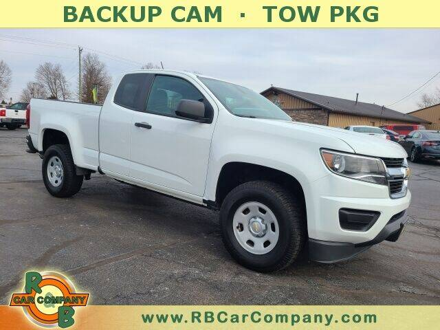 2015 Chevrolet Colorado for sale at R & B CAR CO - R&B CAR COMPANY in Columbia City IN